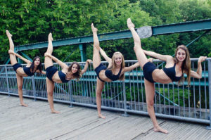 Ballet Class Students