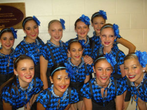 Competitive dancers